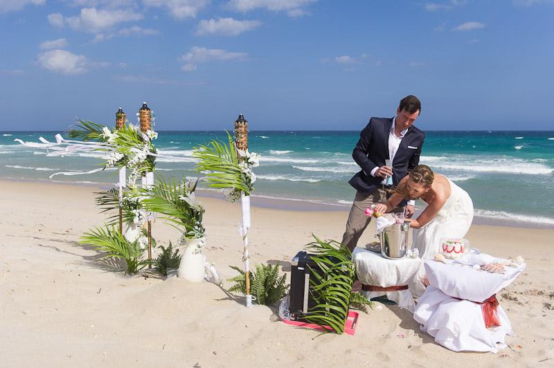 Hochzeit am strand miami