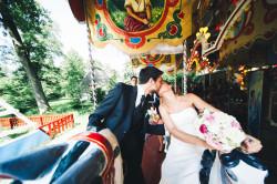 Hochzeitsfotos Karussell